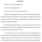 Book before editing